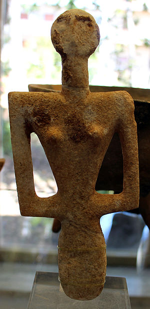 Neolithic Italy - Statuette of the Ozieri culture