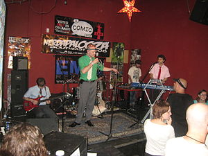 Nerdapalooza - MC Frontalot on stage at Nerdapalooza Southeast 2008