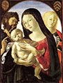 Neroccio de' Landi - Madonna and Child with St John the Baptist and St Mary Magdalene - WGA16516.jpg