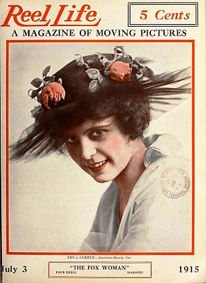 Neva Gerber - Neva Gerber on the cover of Reel Life