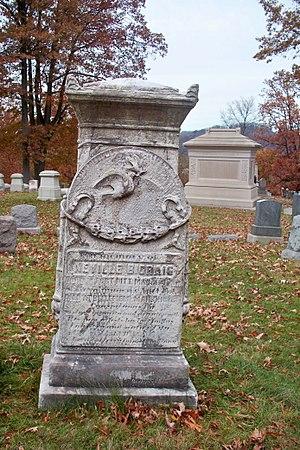 Neville B. Craig - Craig's grave in Allegheny Cemetery