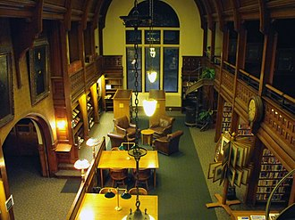 Nevins Memorial Library - Image: Nevins Memorial Library Interior