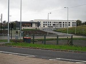 Bearsden Academy - Bearsden Academy building in 2009