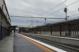 Bentleigh railway station