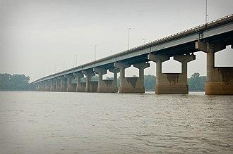 New Chain of Rocks Bridge - New Chain of Rocks Bridge, September 2011