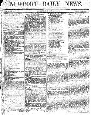 The Newport Daily News - Image: Newport Daily News 1846