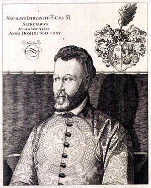 Miklós Istvánffy - Image: Nicolas Istuanfius (1538 1615)