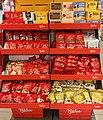 Nidar confectionery (Mokkabønner, Kremtopper, julemarsipan, Polly julemiks, Laban julefest etc.) EXTRA (Coop) Sem, Norway 2017-11-07.jpg