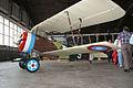 Nieuport 27 LSideLow Restoration NMUSAF 25Sep09 (14598440604).jpg