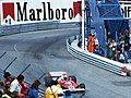 Niki Lauda - Ferrari 312T2 heads out of Tabac at the 1977 Monaco GP.jpg