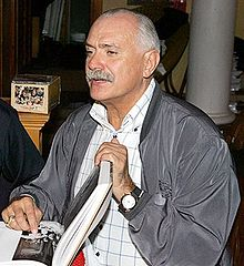 alt=Description de l'image Nikita Mikhalkov.jpg.