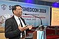 Nisith Ranjan Chowdhury Delivering Lecture - Quality Medical care - SPORTSMEDCON 2019 - SSKM Hospital - Kolkata 2019-03-17 3486.JPG