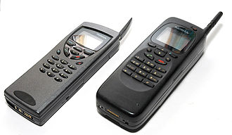 Smartphone - The Nokia 9000 Communicator (right) and the updated 9110 model (left)