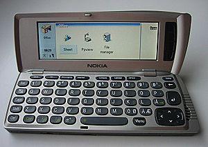 Nokia Communicator - Image: Nokia 9210