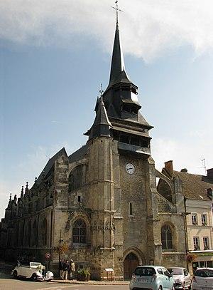 Nonancourt - Image: Nonancourt église saint Martin