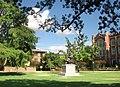 Norman, OK USA - University of Oklahoma - Evans Hall ^ George Lynn Cross Monument - panoramio (2).jpg