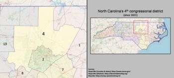 4e district du Congrès de Caroline du Nord (depuis 2021).png