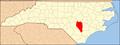 North Carolina Map Highlighting Sampson County.PNG