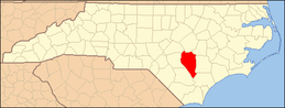 North Carolina Map Highlighting Sampson County.PNG