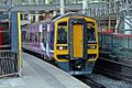 Northern Rail Class 158, 158853, platform 2, Manchester Victoria railway station (geograph 4500531).jpg