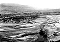 Number 1, the left end of a panorama of two pictures looking westward from the top of Tuzigoot Ruins showing the Verde River (7a5681ca6cc342bf80bd25c72d839aef).jpg