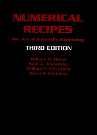 Numerical Recipes cover