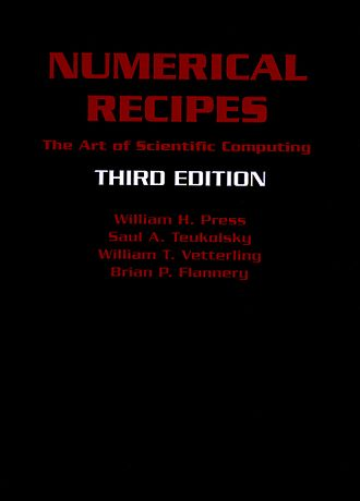 Numerical Recipes - Image: Numerical Recipes 3rd Ed Cover