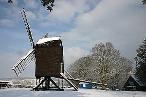 Nutley, East Sussex - Nutley Windmill