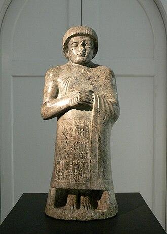 Statues of Gudea - Statue O in Copenhagen