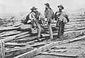 O'Sullivan, Timothy H. - Gettysburg, konföderierte Gefangene (Zeno Fotografie).jpg