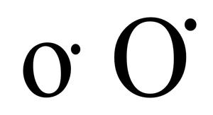 O͘ - Image: O dot