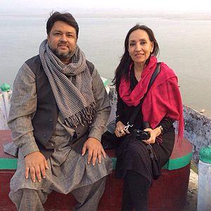 Obaidur Rahman Siddiqui - Obaidur Rahman Siddiqui with Professor Smita Tewari Jassal