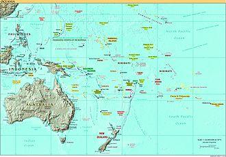 Economy of Oceania - Oceania