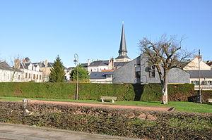 Octeville-sur-Mer - Center and church