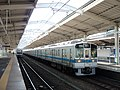 Odakyu 1753 at Odakyu Tama-Center Station.jpg