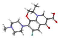 Ofloxacin ball-and-stick.png