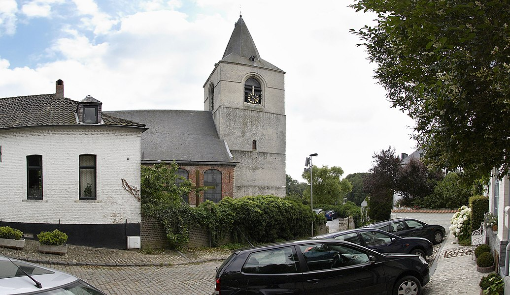 Saint-Étienne church in Ohain (part of Lasne) in Belgium