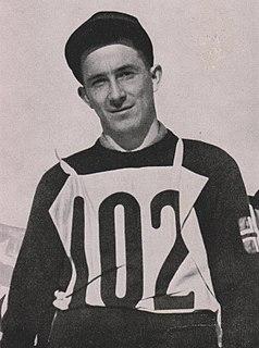 Olaf Hoffsbakken Norwegian Nordic skier