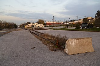 Siding (rail) - Old rail siding