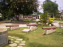 Old cannons of Argao.JPG