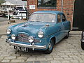 Old car KDL 104 at Newport Quay.JPG