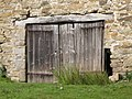 Old door in the Ruins at Allenheads Smelt Mill - geograph.org.uk - 1451351.jpg