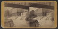 Old mill and dam at Glens Falls, built by the English, from Robert N. Dennis collection of stereoscopic views.png