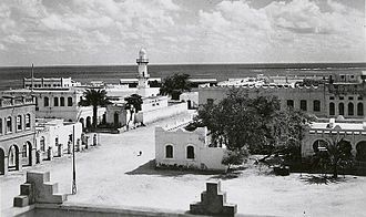 Djibouti (city) - Djibouti City's Al Sada Mosque in the 1940s.