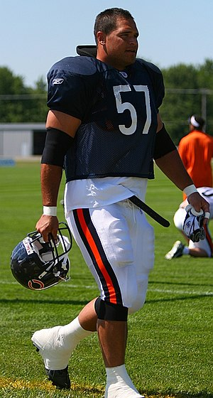 Olin Kreutz - Olin Kreutz on July 27, 2007 at the Chicago Bears 2007 Training Camp.