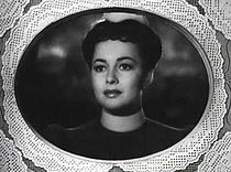 Olivia de Havilland in The Strawberry Blonde trailer.JPG