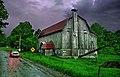 Ols barn of river north - panoramio.jpg
