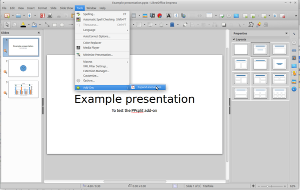 PanDocElectron/How to create a html presentation - Wikiversity