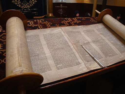 Open Torah, the Jewish Holy Book