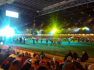 2013 Rugby League World Cup - The World Cup's Opening Ceremony.